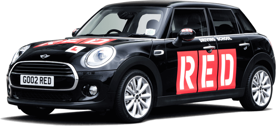RED Driving School branded Mini