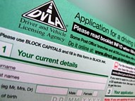 DVLA application form