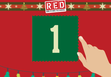 RED advent calender