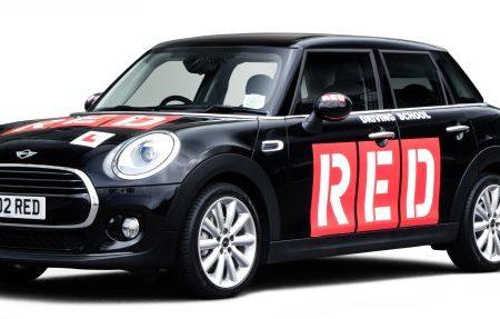 RED black car
