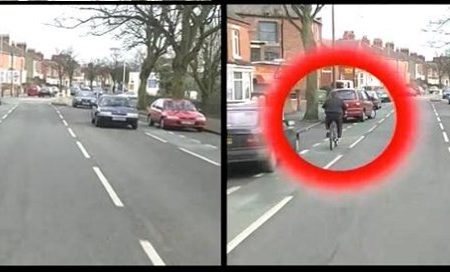 Cyclist hazard perception