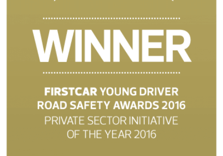 First car young driver road safety award winner