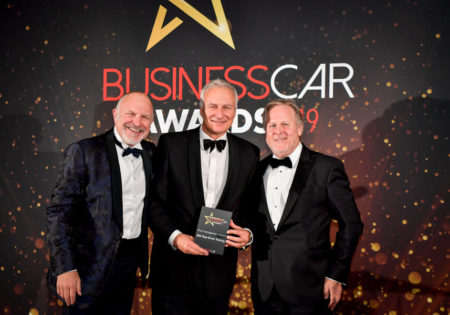 Ian McIntosh at British Car awards 2019