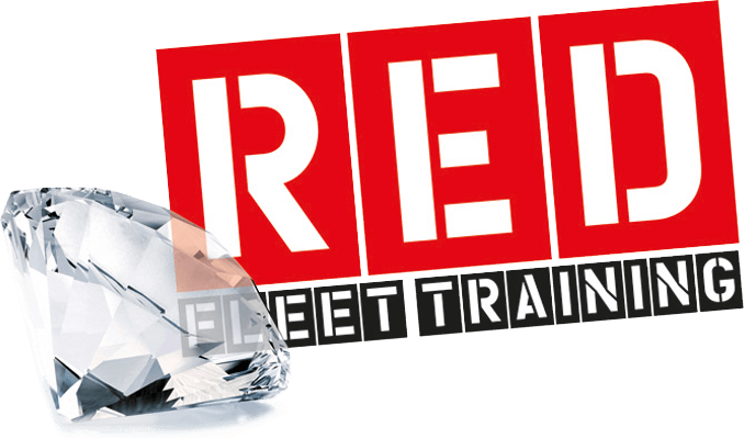 red fleet logo with diamond