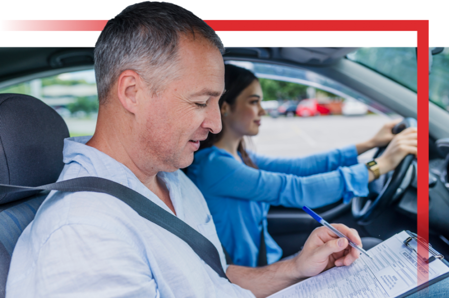 RED driving school instructor