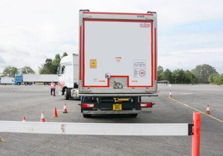 lorry reversing